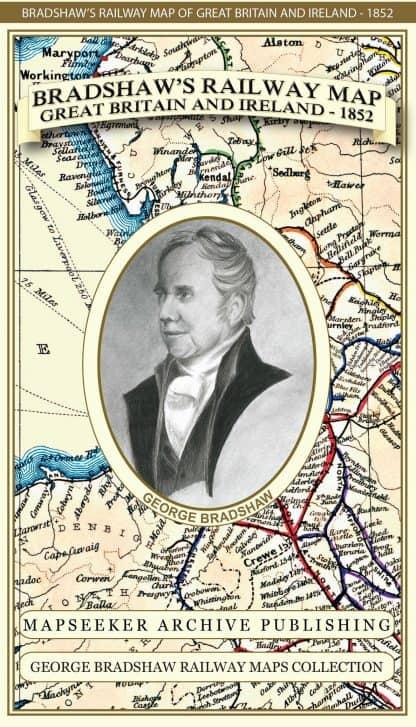 Bradshaws Railway Atlas Of Great Britain & Ireland