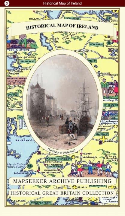 Historical Map Of Ireland