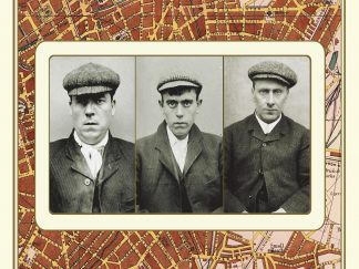 Peaky Blinders - Street Map Of Birmingham 1892