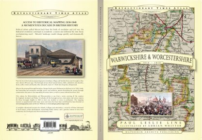 Revolutionary Times Atlas Of Warwickshire & Worcestershire